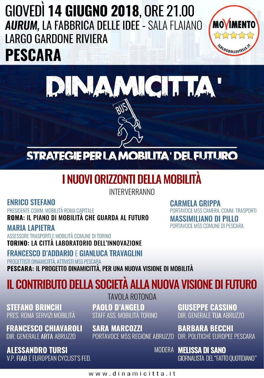 DINAMICITTÀ PESCARA 14062018 LOCANDINA EVENTO